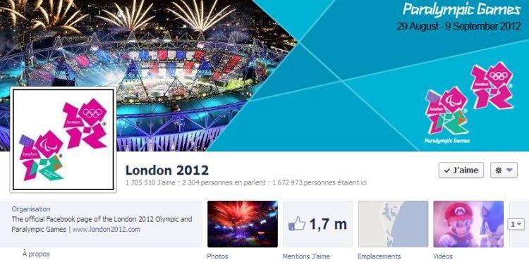 London 2012 - Facebook