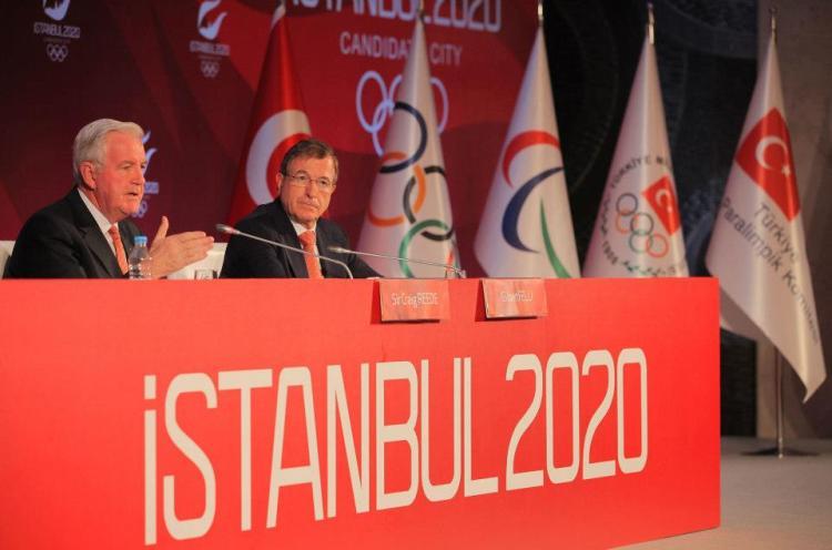 Istanbul 2020 - Sir Craig Reedie - Gilbert Felli