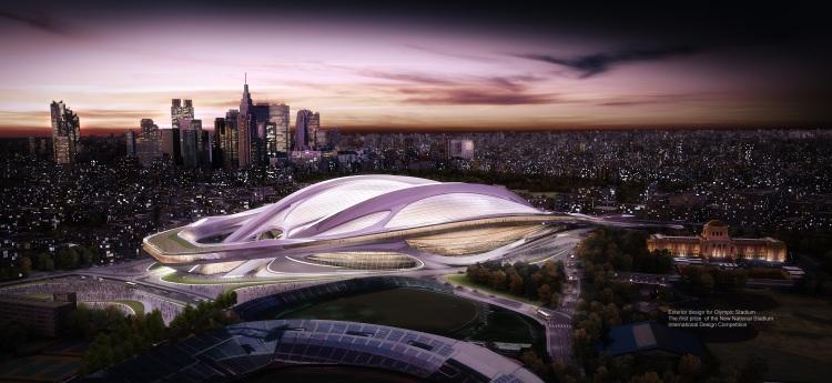 Stade Olympique maquette - Tokyo 2020