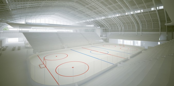 Kingsbridge National Ice Center - patinoire de 5 000 places