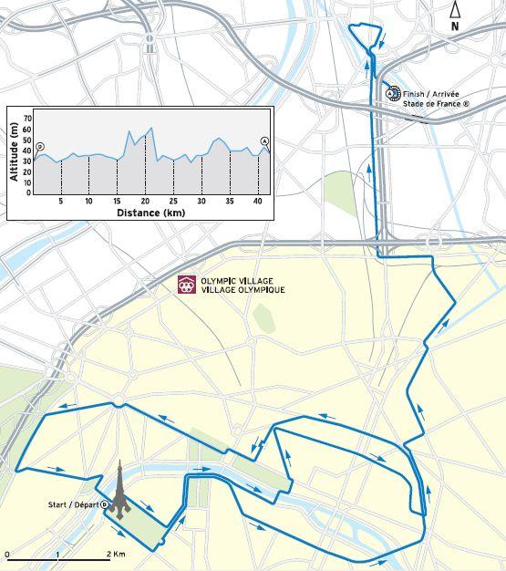 Marathon - Paris2012