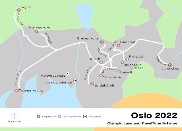 Oslo 2022 - Site des compétitions