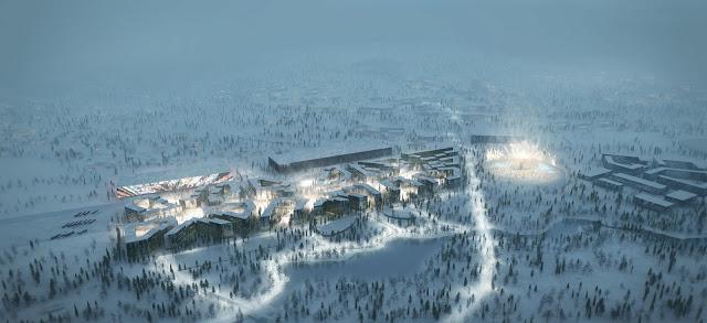 Village Olympique de Kjelsrud - Oslo 2022