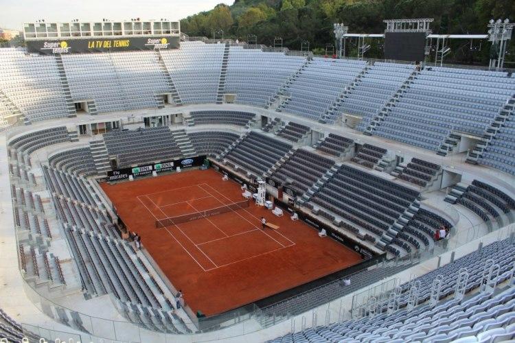 Court Central - Foro Italico Rome