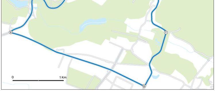 Parcours de la course en ligne - Paris 2012 - 2/2