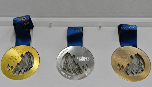 Olympic Medals - Sochi 2014 - IOC