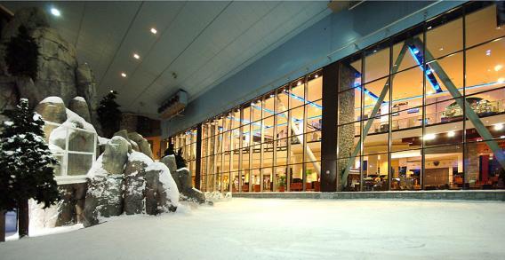Ski Dubaï - commerces