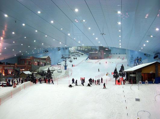 Ski Dubaï - piste