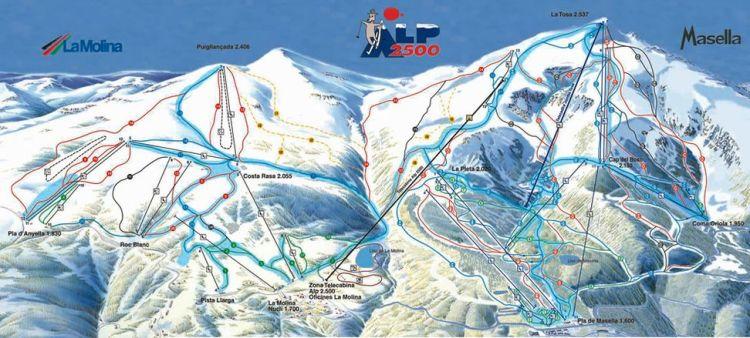 La Molina - Masella - Alp 2500