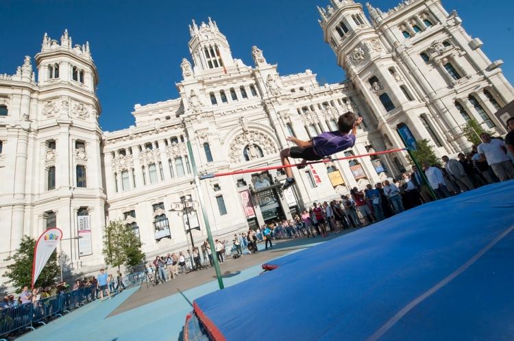 saut en hauteur - Nuit du Sport - Madrid 2020