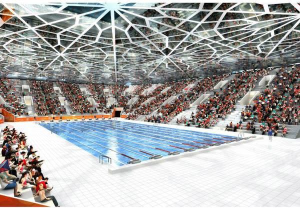 Centre Aquatique - Istanbul 2020