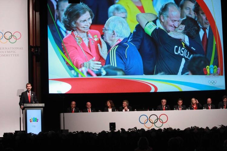 Délégation Madrid 2020 - Lausanne - 03 juillet 2013