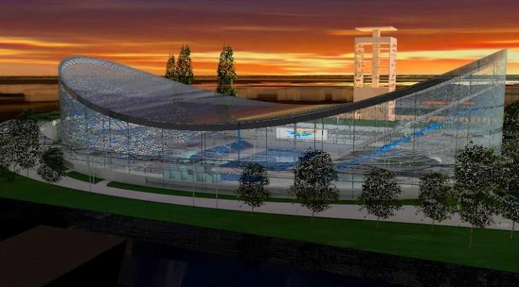 Nouveau Centre Aquatique de Budapest