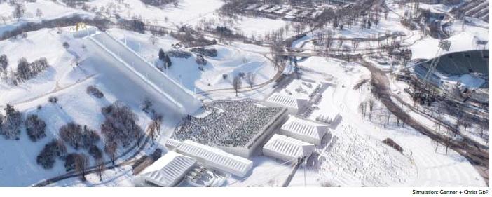 Colline du Parc Olympique - Munich 2022
