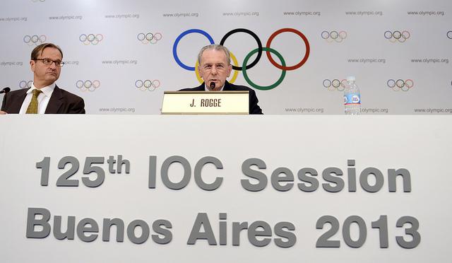 Jacques Rogge - 125e Session du CIO