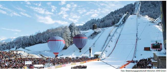Tremplin de saut à ski - Munich 2022