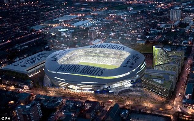 Nouveau Stade De Tottenham Sport Amp Soci 233 T 233