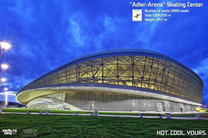 Adler Arena - Sotchi 2014