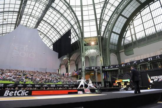 Grand Palais - escrime 2010