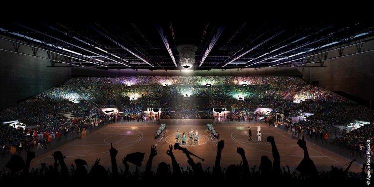 Grande Salle Bordeaux-Floirac - vue intérieure