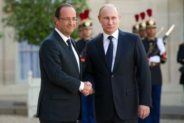 Hollande - Poutine