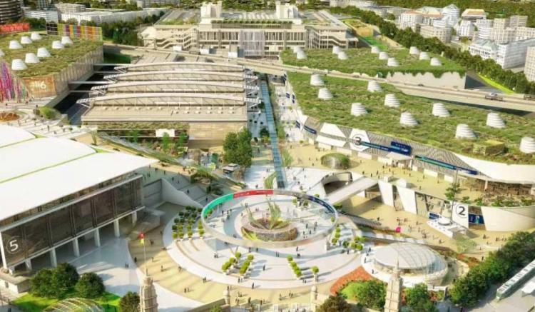 Pavillons - Parc des Expositions - Porte de Versailles