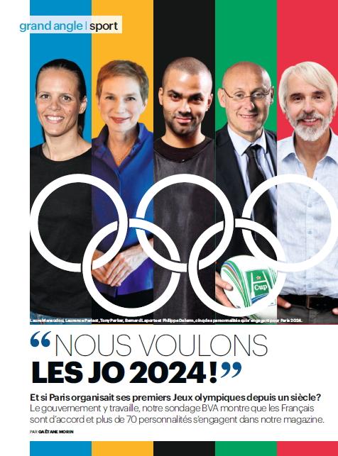 Nous voulons les JO 2024