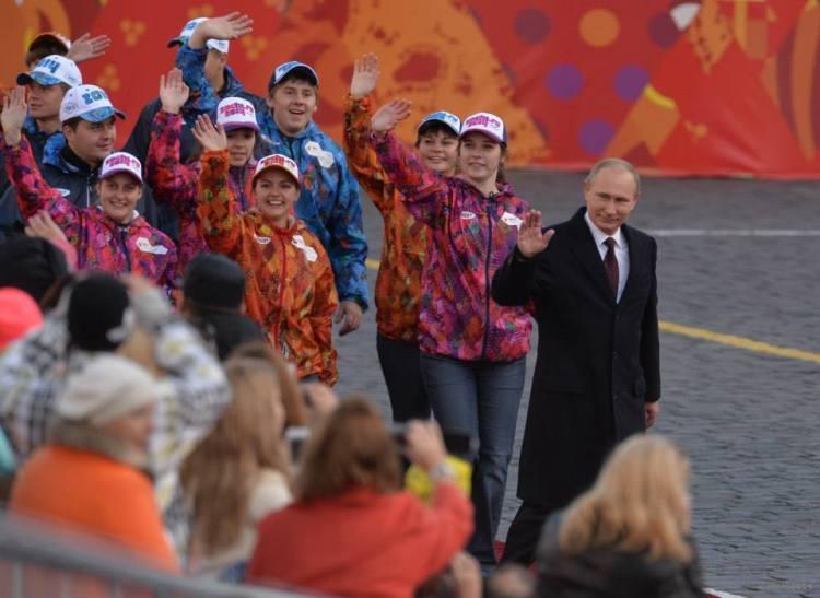 Sochi 2014 - Vladimir Poutine