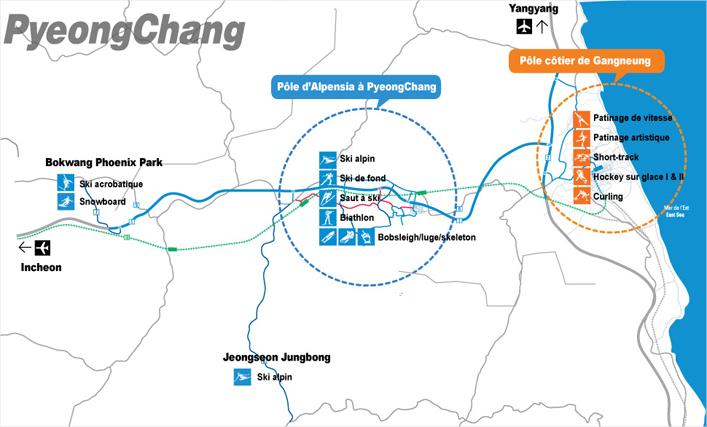 Carte - PyeongChang 2018