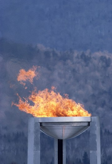 Lake Placid - Olympic cauldron