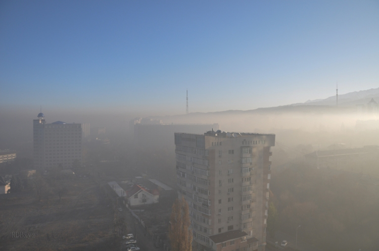 Almaty - pollution