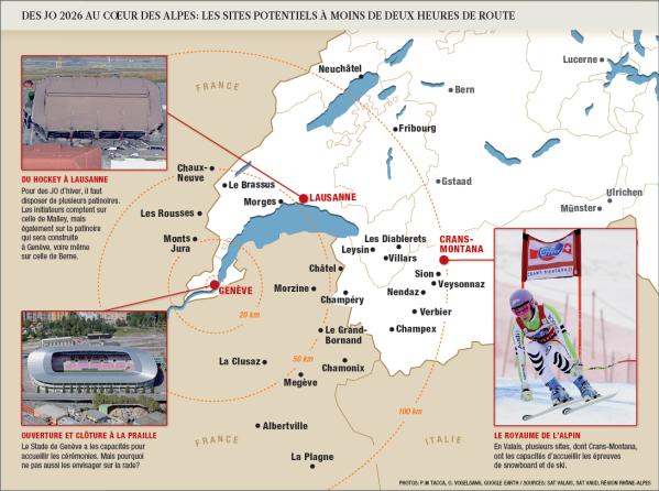 Carte - Genève 2026