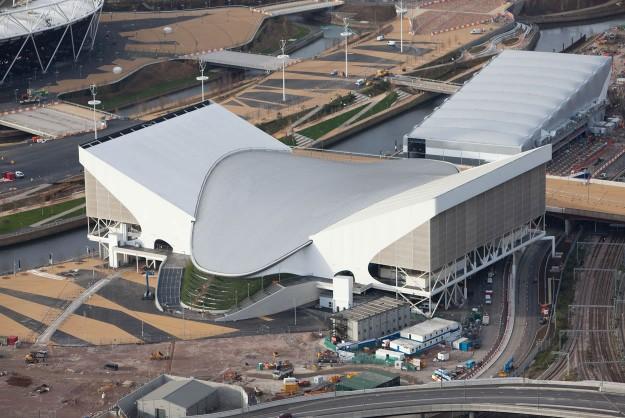 Centre Aquatique Olympique - Londres 2012 - vue extérieure