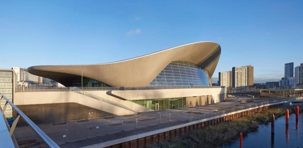 Centre Aquatique Olympique - Londres - vue extérieure