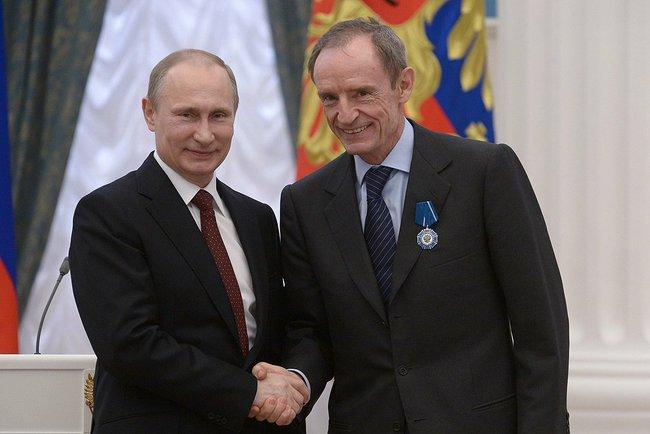 Vladimir Poutine - Jean-Claude Killy
