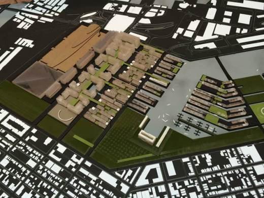 Boston 2024 - Village Olympique par Meghan McAllister et PJ Nakamura