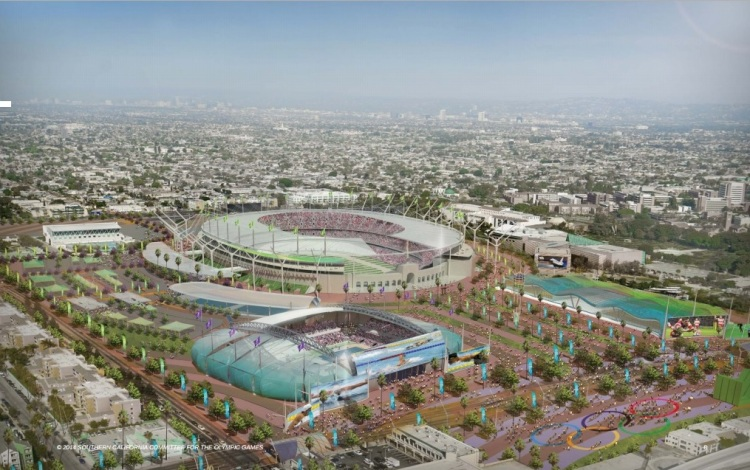 Parc Olympique de Los Angeles 2024 - SCCOG