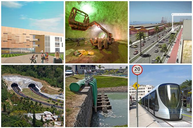 Rio 2016 - chantiers urbains