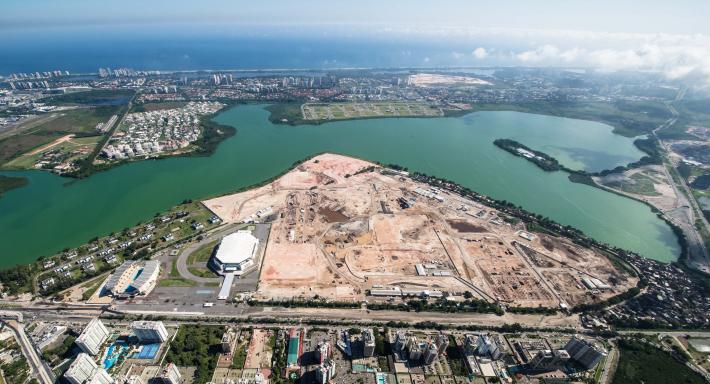 Rio 2016 - Parc Olympique - février 2014