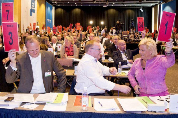 Congrès national - Parti du Progrès - Norvège