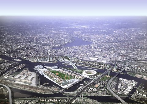 Hambourg 2024 - parc olympique