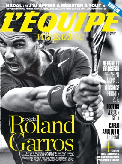 Lequipe Magazine - Roland Garros