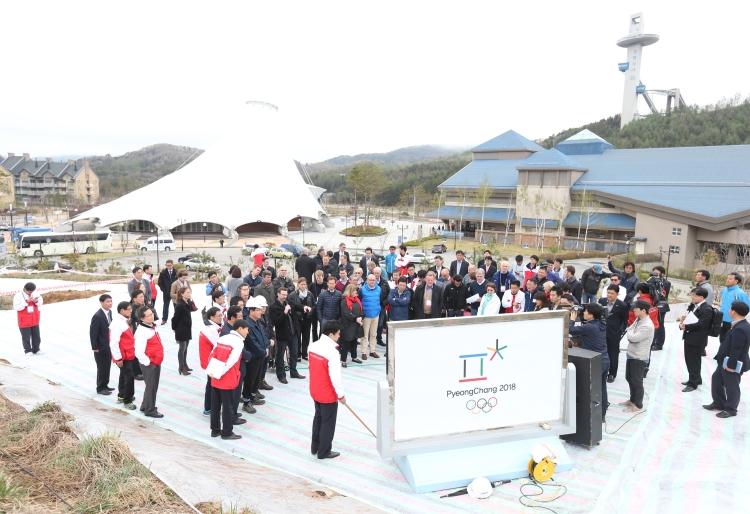 PyeongChang 2018 - visite de la Commission de Coordination - avril 2014
