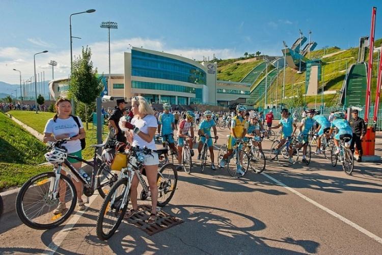 Almaty 2022 - course cycliste