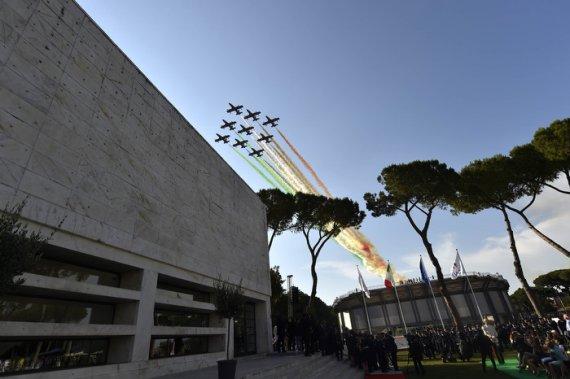 Patrouille d'Italie - Foro Italico