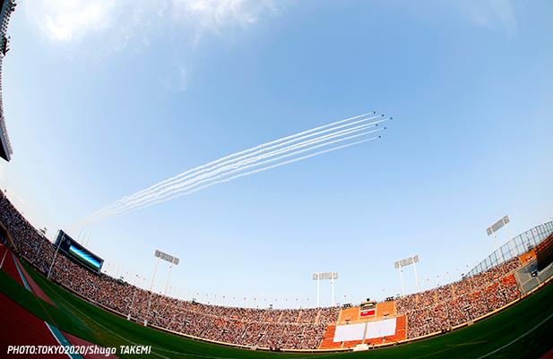 Stade National de Tokyo - cérémonie d'adieu