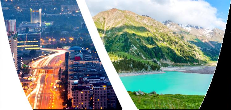 Almaty - vue générale