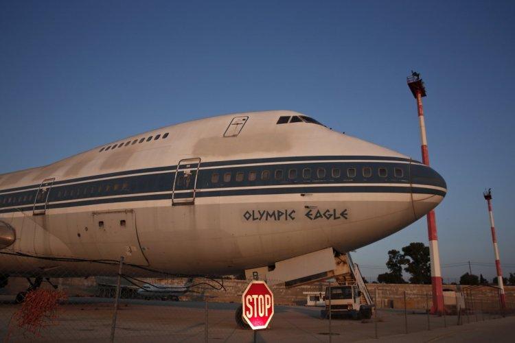 Athènes 2004 - aéroport - avion