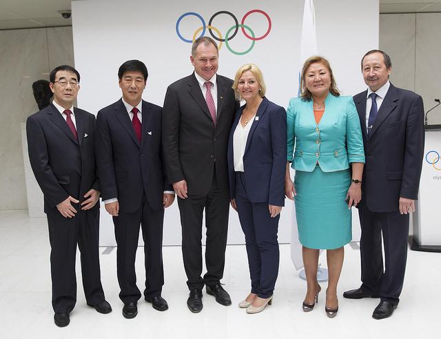 CIO - représentants des Villes Candidates aux JO 2022