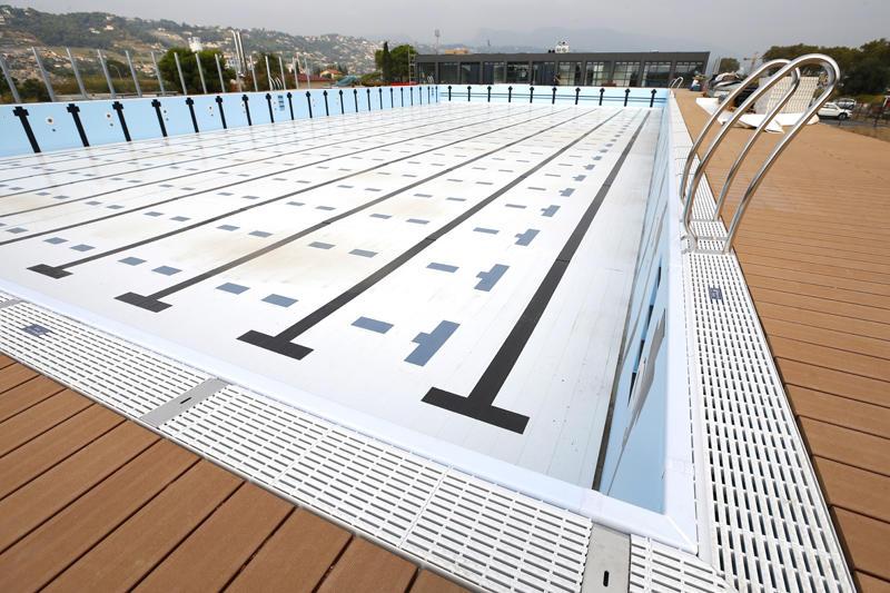 Piscine olympique sport soci t - Dimension d une piscine olympique ...